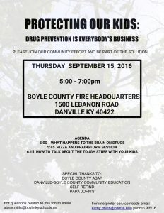 Protecting Our Kids Forum September 2016